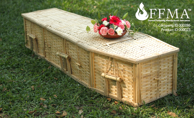 Bamboo Coffin FFMA Company ID#286 Product ID#000023